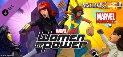 Pinball FX2 Marvels Women of Power