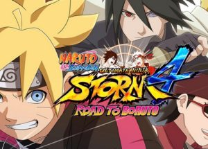 Naruto Storm 4 Road to Boruto Game PC Free Download