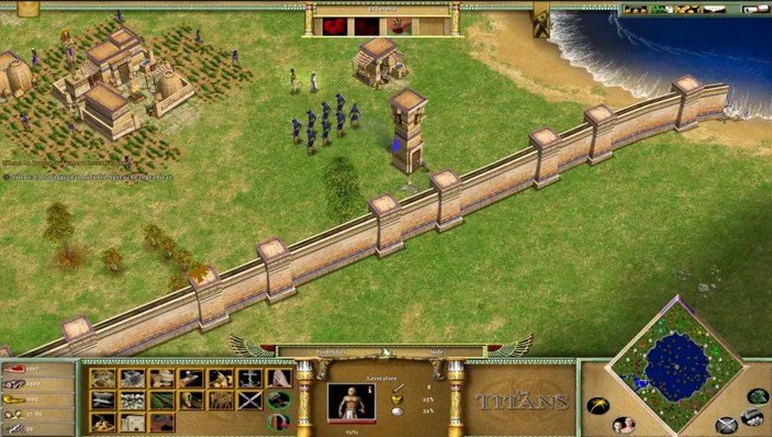 Age of Mythology The Titans Gameplay