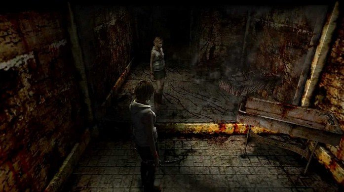 Silent Hill 3 Gameplay