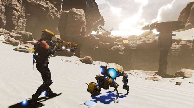 ReCore Definitive Edition Gameplay
