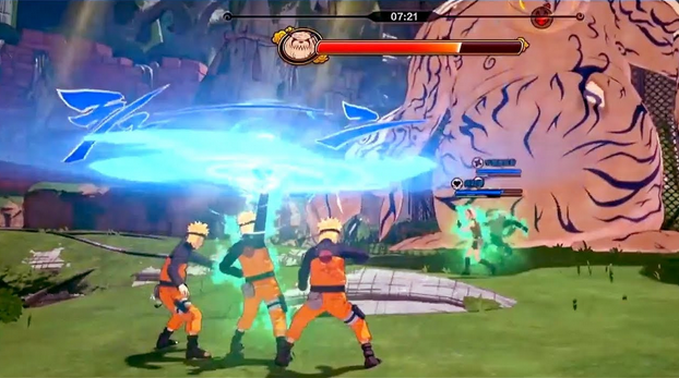Naruto to Baruto Shinobi Striker Gameplay