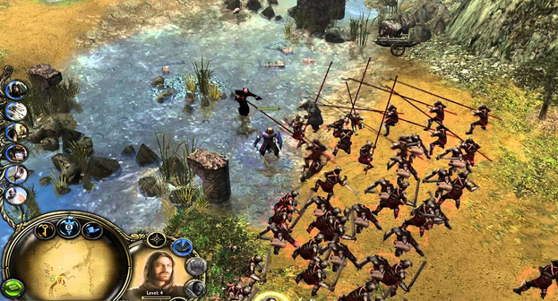 The Lord of the Rings The Battle for Middle Earth II Gameplay